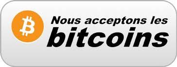 Bitcoins paiement accepté
